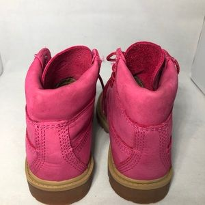 "Timberland Shoes - Timberland 6"" Classic Boot - Big Kid Pink 6 female"